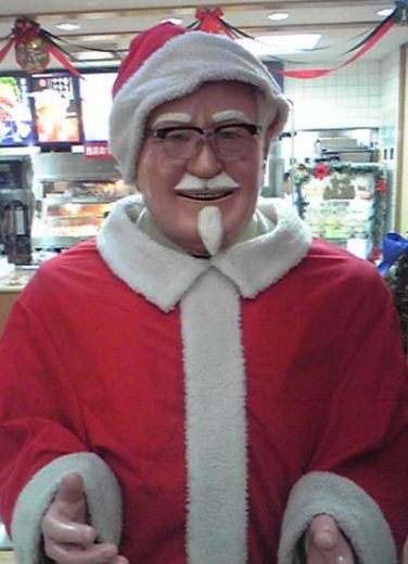 in the west the notion of going to kentucky fried chicken for christmas dinner is considered profoundly depressing sitting alone in a soulless junk food - Is Kfc Open On Christmas Day